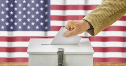 Blockchain protecting U.S. elections against foreign hacking!